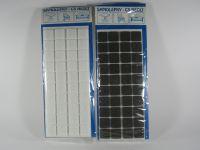 Plstěné podložky samolepicí rozměr 20 x 20 mm hnědé