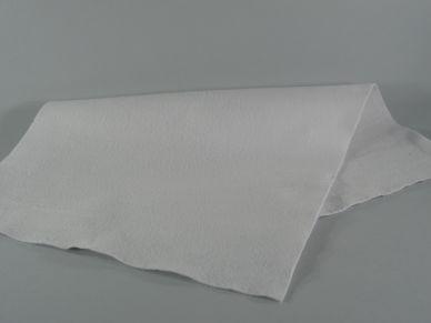 Plst dekorační 1 mm bílá