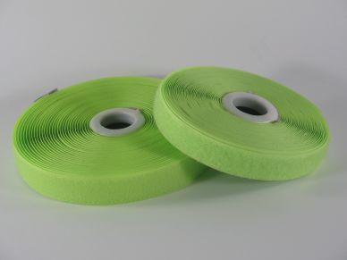 Suchý zip 20 mm světle zelený