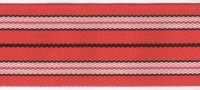 Popruh sáňkový červený