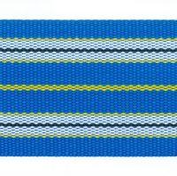 Popruh sáňkový modrý