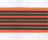 Popruh sáňkový oranžový