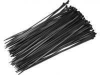 Pásky stahovací 100 x 2,5 mm černé